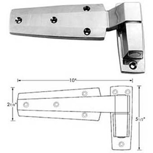 """CHG (Component Hardware Group) W60-1200 HINGE CAM (2"""" OFST)"""
