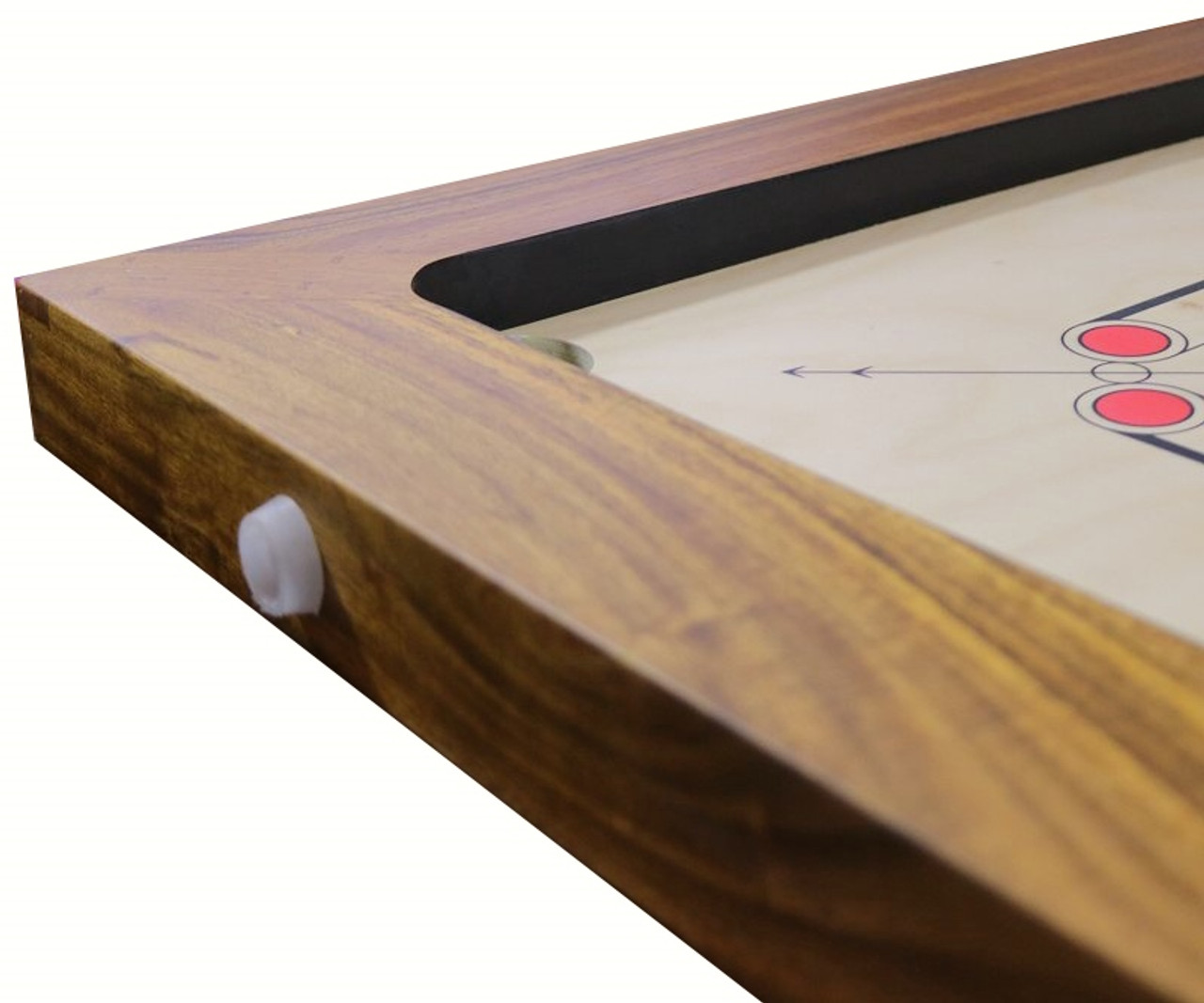 Tournament Carrom Board L.E. ACF/ICF Regulation Complete with Regulation Stand, Playing Accessories & FREE OFFERS