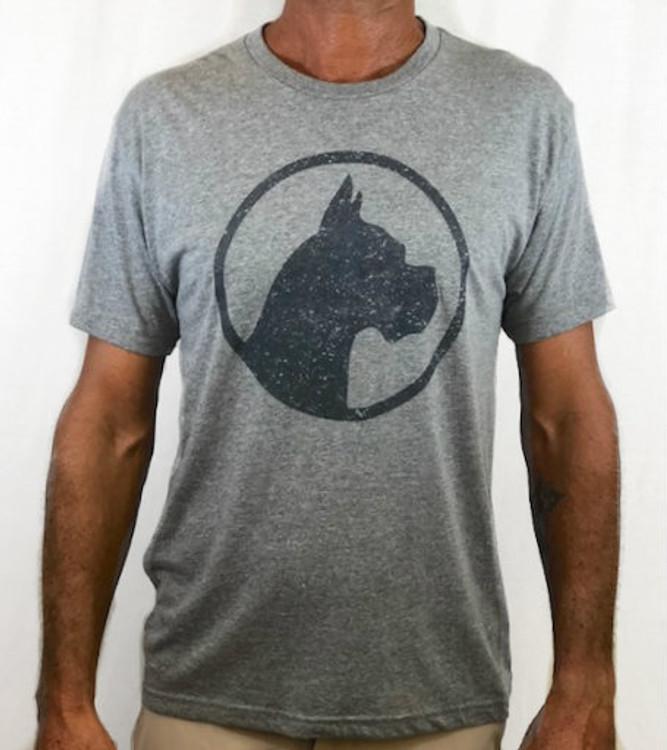 CoCo's Monkey Island Icon Soft Tee Shark Fin Grey
