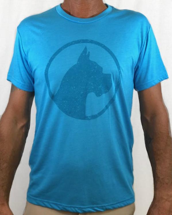 CoCo's Monkey Island Icon Soft Tee Tahoe Blue