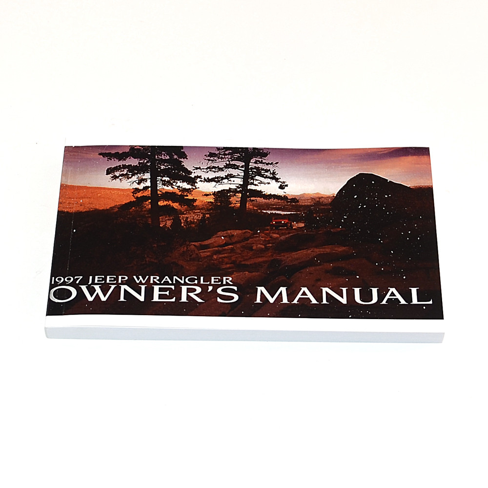 1997 TJ Factory Owners Manual ...