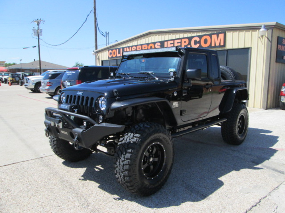 Sold 2014 Black Mountain Jk 8 Wrangler Truck Stock 312175 Collins