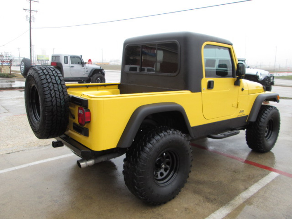 Sold 2004 Jeep Lj Wrangler Unlimited Half Cab Conversion Stock