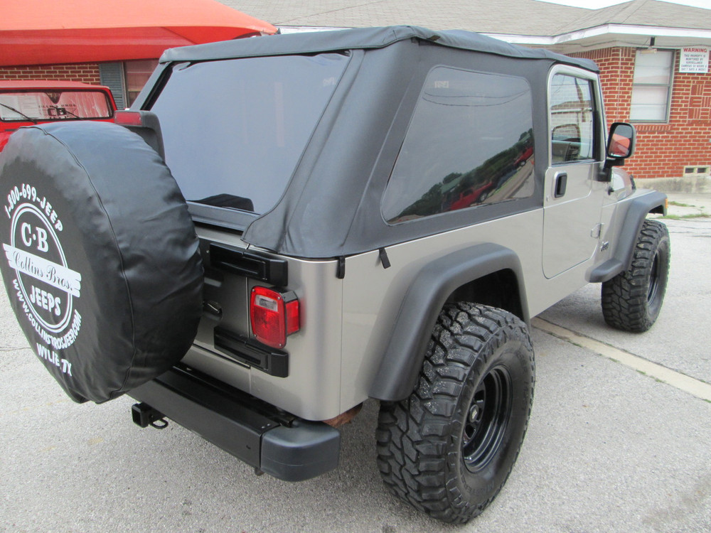 Sold 2005 Jeep Wrangler Lj Unlimited Stock  357929