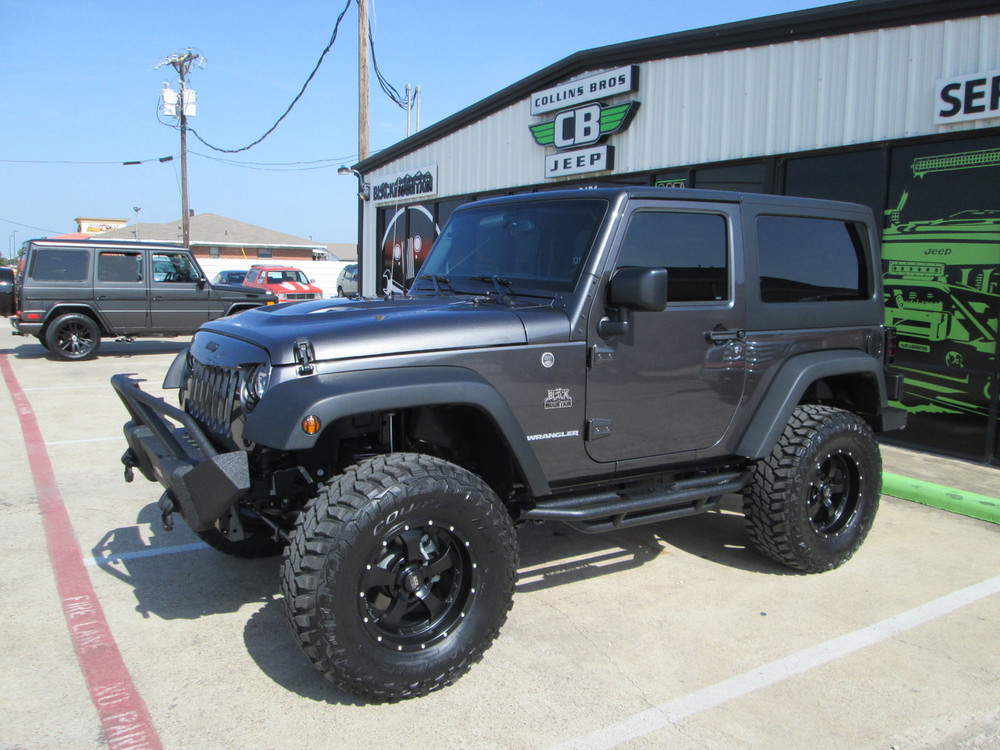 Awesome SOLD 2017 Black Mountain Conversions 2 Door Jeep Wrangler Stock# 557932 ...