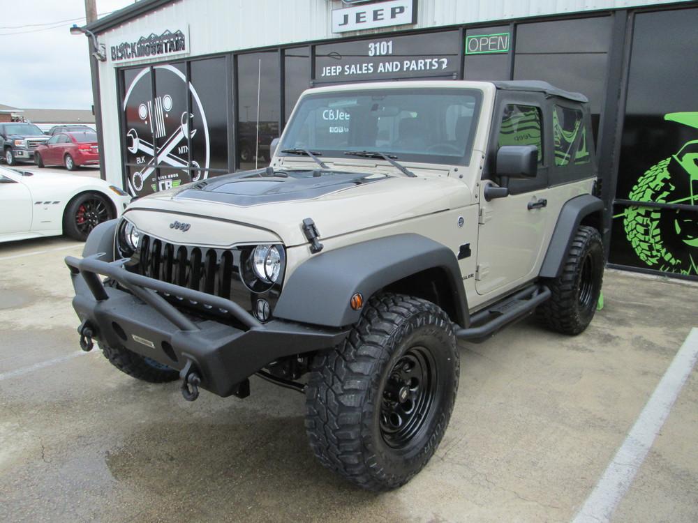 Sold 2017 Black Mountain Conversions 2 Door Jeep Wrangler Stock# 653919 ...