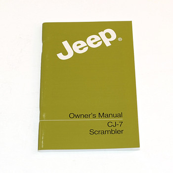 jeep owners manuals cbjeep rh collinsbrosjeep com Custom 88 YJ Interior 88 YJ 3 in Lift