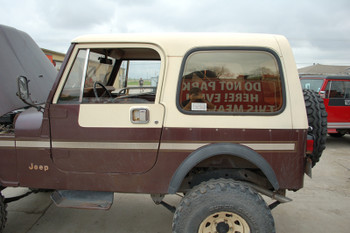 Used Factory CJ7 hardtop ... & Used Parts Specials