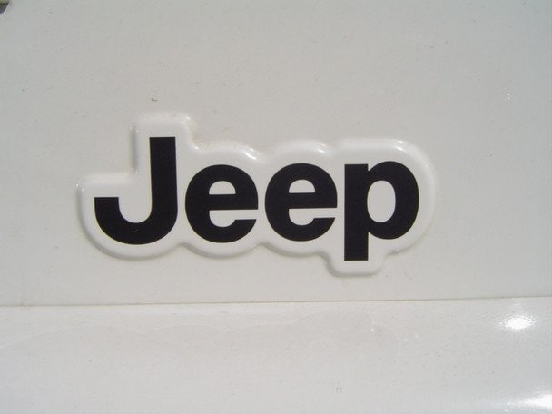 "TJ ""JEEP"" Cowl Decal"