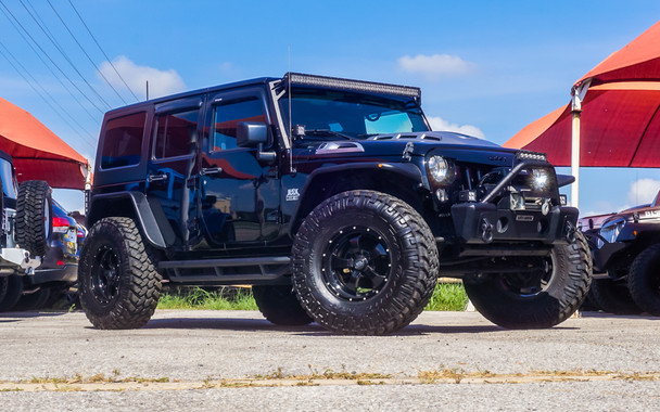 SOLD SALE PENDING 2015 Black Mountain Conversions LOWER 37 Unlimited Jeep Wrangler Stock# 648248