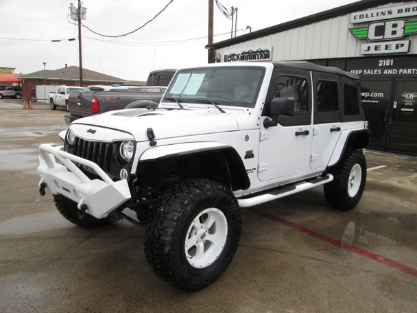 2017 Black Mountain Conversions Unlimited Jeep Wrangler Stock# 640537