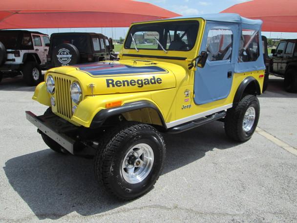 SOLD 1977 Jeep CJ-7 Renegade Super Jeep Levis Edition Stock# 073539 ...