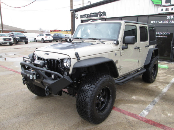 SOLD – STAGE 2 – 2018 Black Mountain Conversions Unlimited Jeep Wrangler Stock#  821897