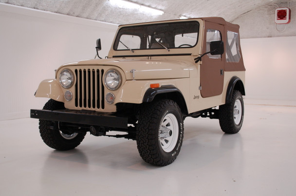 Sold 1985 CJ-7 Jeep Almond Beige Stock# 171349