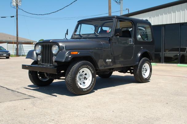 SOLD 1986 Jeep CJ-7 Charcoal Grey Stock# 088641