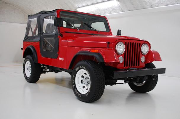 SOLD 1986 Jeep CJ-7 Sebring Red  Stock# 039158