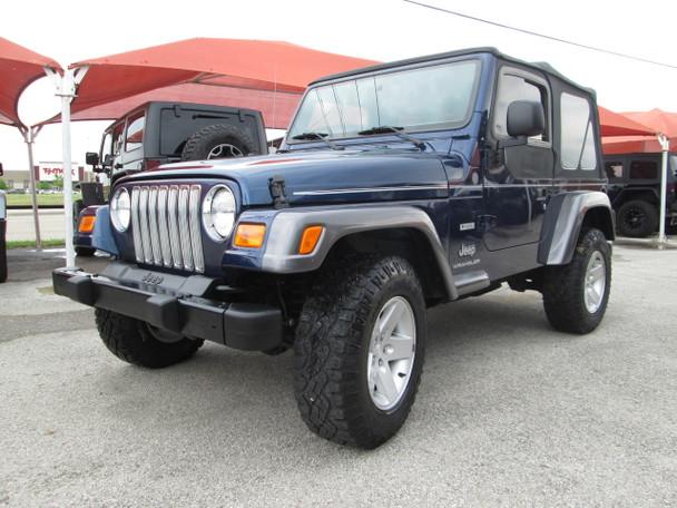 SOLD 2004 Jeep Wrangler STOCK # 726150