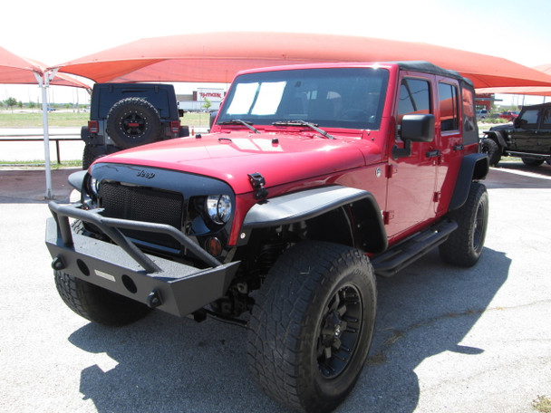 2008 Jeep Wrangler JKU Red Stock# 649016