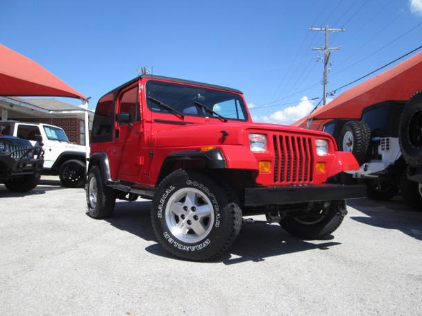1992 Jeep YJ Wrangler Stock# 543446