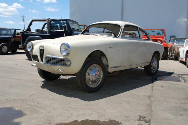 SOLD SALE PENDING 1963 Alfa Romeo Giulia Sprint 1600 project Stock# 526608