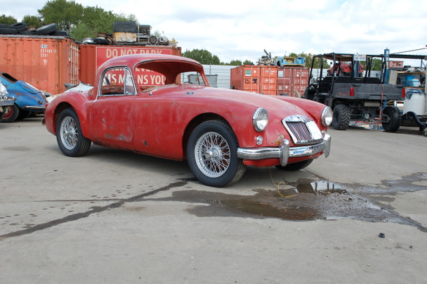 SOLD SALE PENDING 1959 MGA Coupe 1500 series Stock# 341528