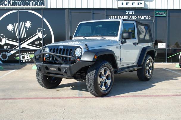 2008 Jeep Wrangler JK 2 door silver Stock# 566717