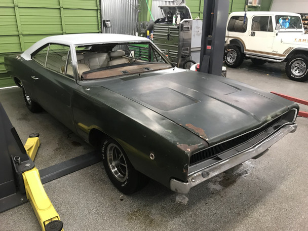 1968 Dodge Charger project Stock# 242991