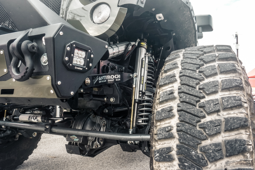 Custom built Hellcat-powered Jeep JK