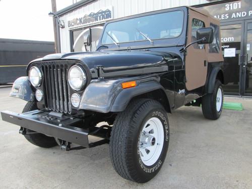 1985 Jeep Cj-7 Stock  005402