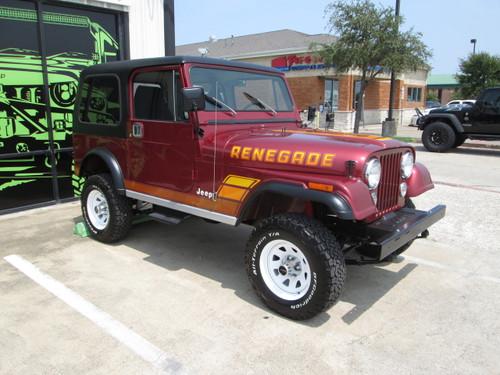 sold sale pending 1984 jeep cj 7 renegade hardtop auto. Black Bedroom Furniture Sets. Home Design Ideas