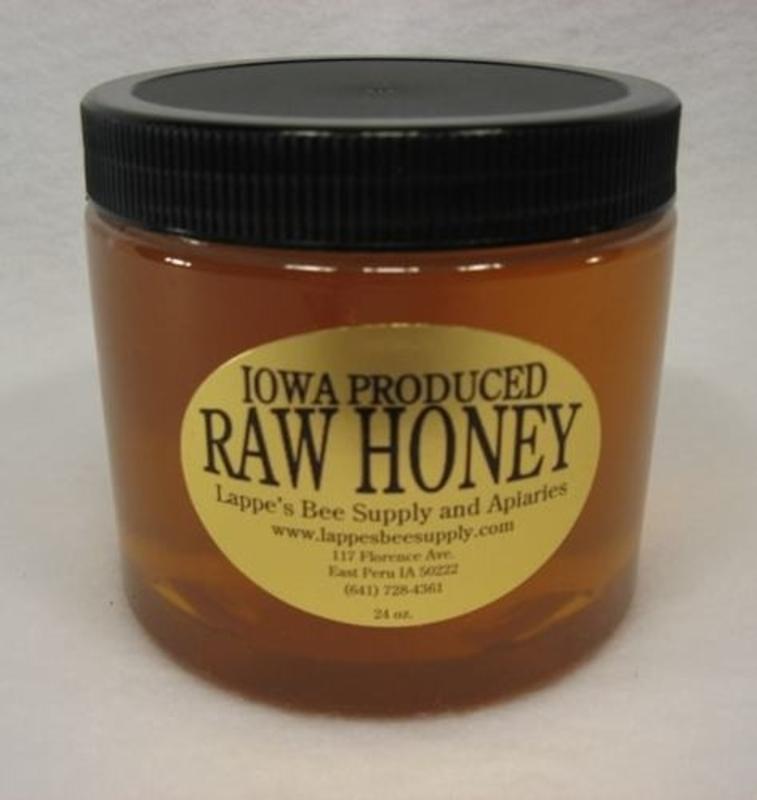 24 oz. Raw Iowa Honey