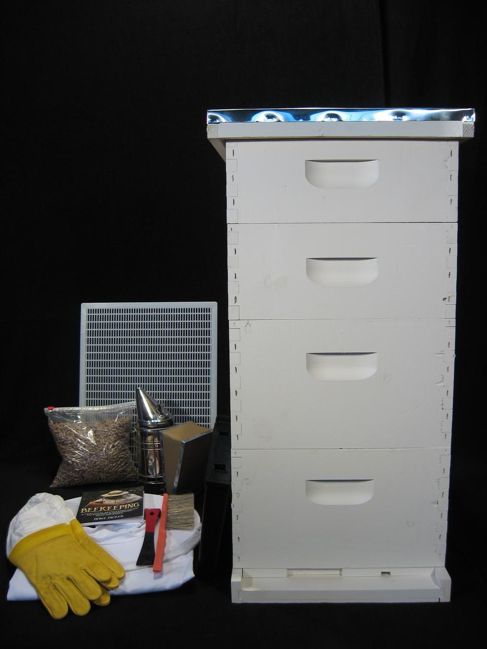 10 Frame Honey Master Colony Starter Kit Painted