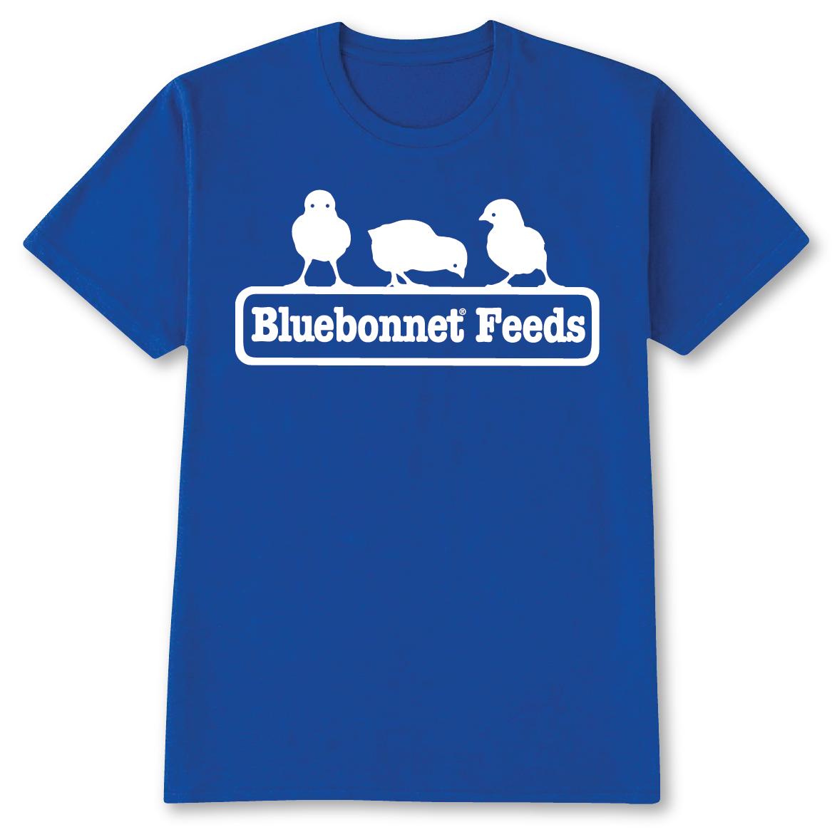 Bluebonnet Chick Shirt Bluebonnet Feeds