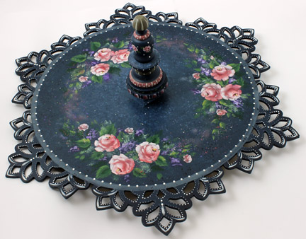 Tea Roses and Lace DVD & Pattern Packet - Patricia Rawlinson
