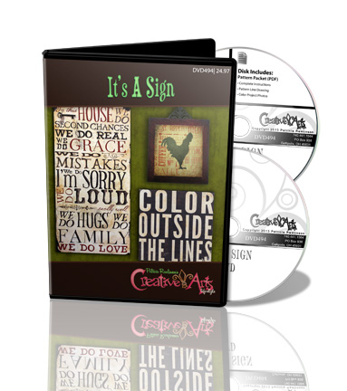 It's A Sign DVD & Pattern Packet - Patricia Rawlinson