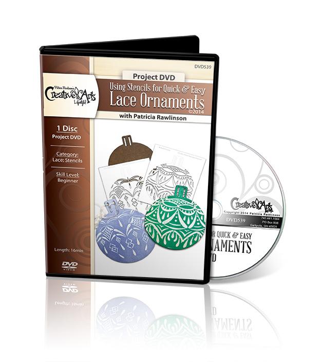 Quick & Easy Lace Ornaments DVD - Patricia Rawlinson