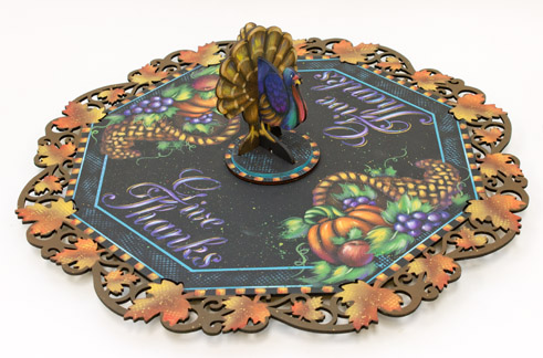 Giving Thanks Lazy Susan Pattern Packet - Patricia Rawlinson