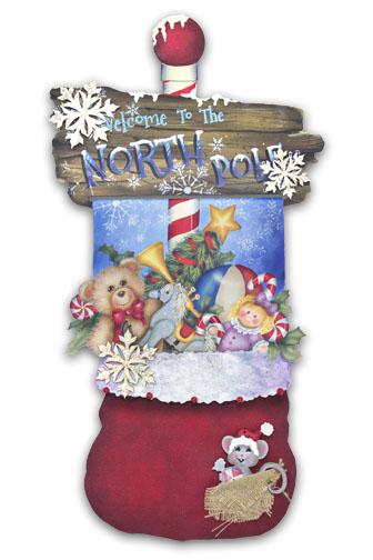 Santa's Magic Bag Pattern Packet - Patricia Rawlinson