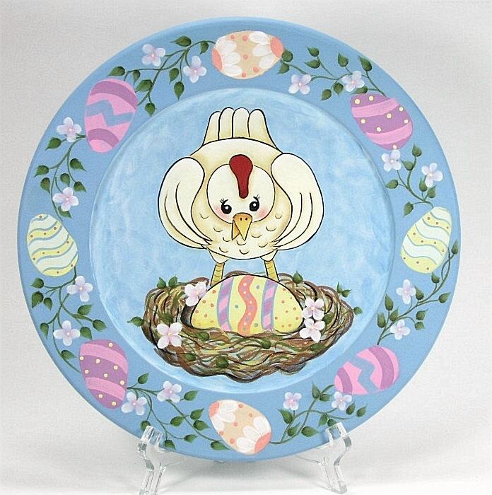 Easter Surprise Plate - E-Packet - Jeanne Bobish