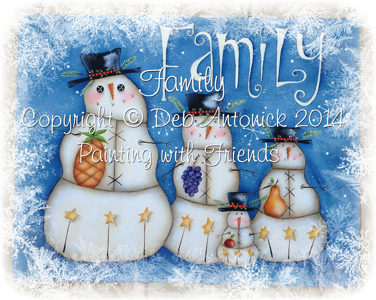 Family - E-Packet - Deb Antonick