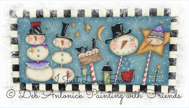 I Just Love Snow! - E-Packet - Deb Antonick