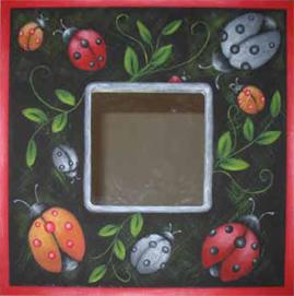 I Love Ladybugs Mirror - E-Packet - Beverly Maitland