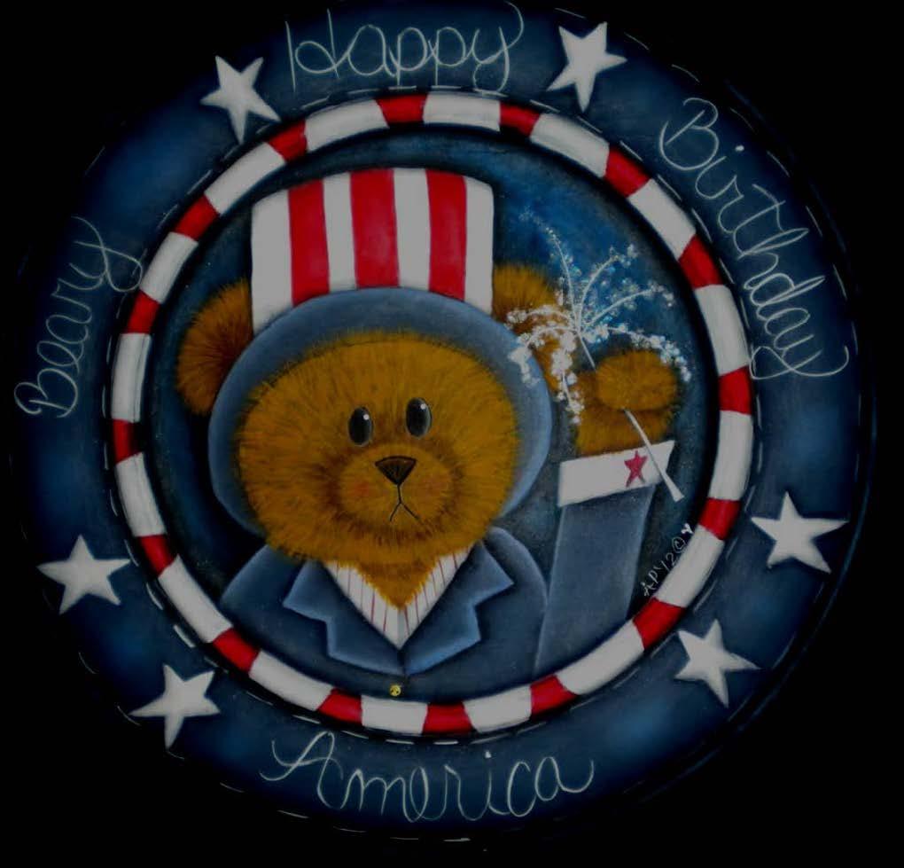 Beary Happy Birthday America - E-Packet - Ann Perz