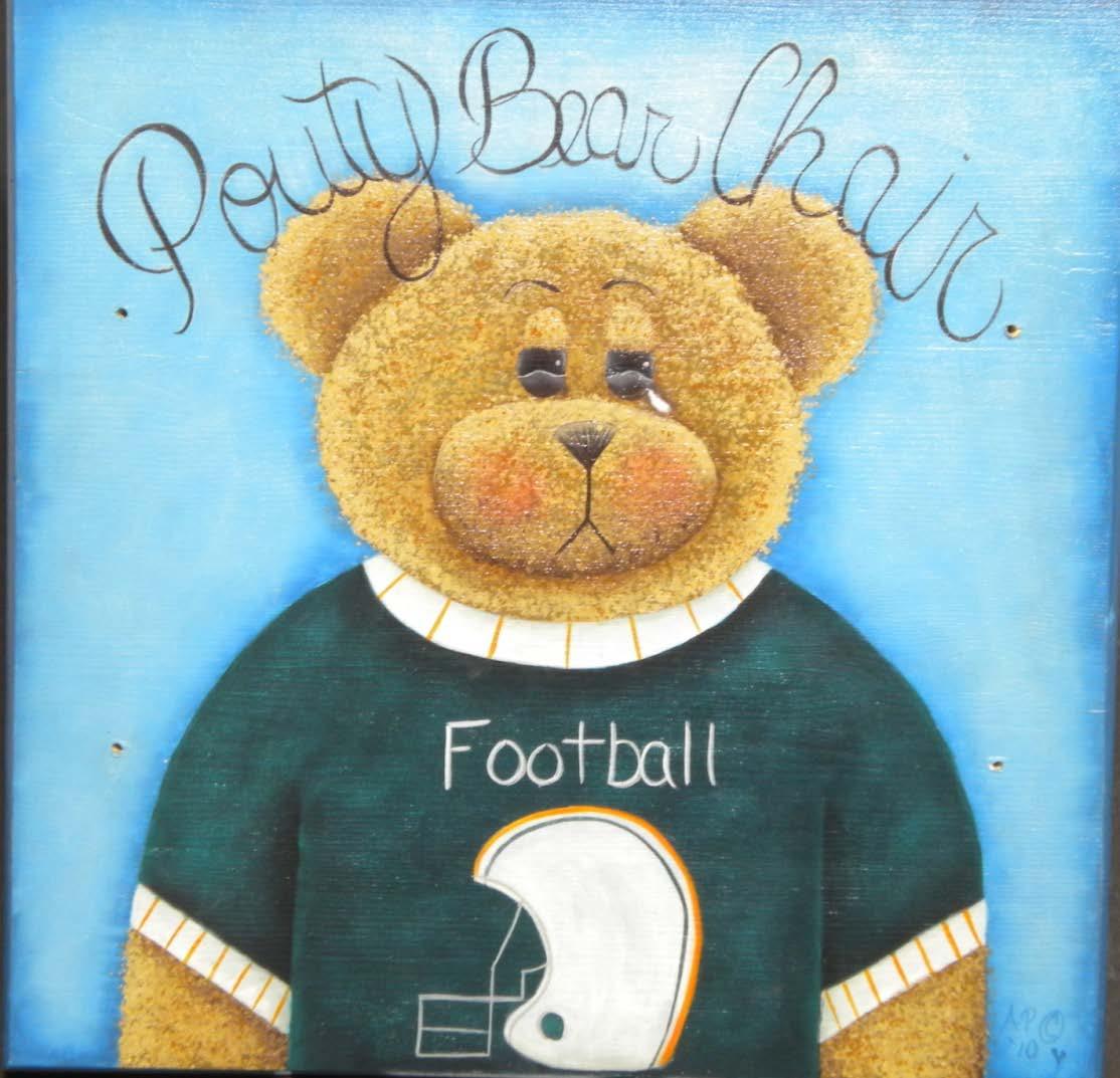 Pouty Boy Bear Chair - E-Packet - Ann Perz