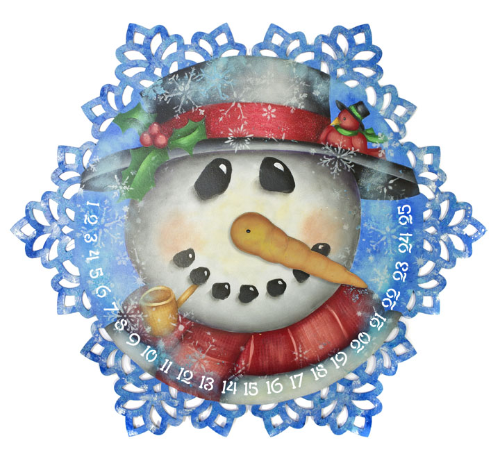 Frosty Countdown Pattern Packet - Patricia Rawlinson