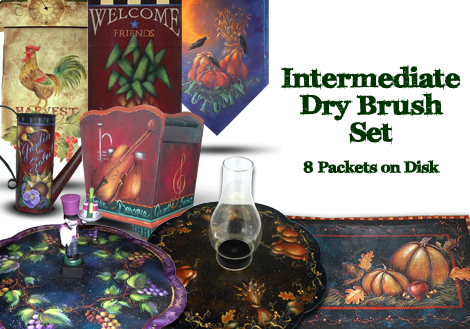 Intermediate Dry Brush Collection