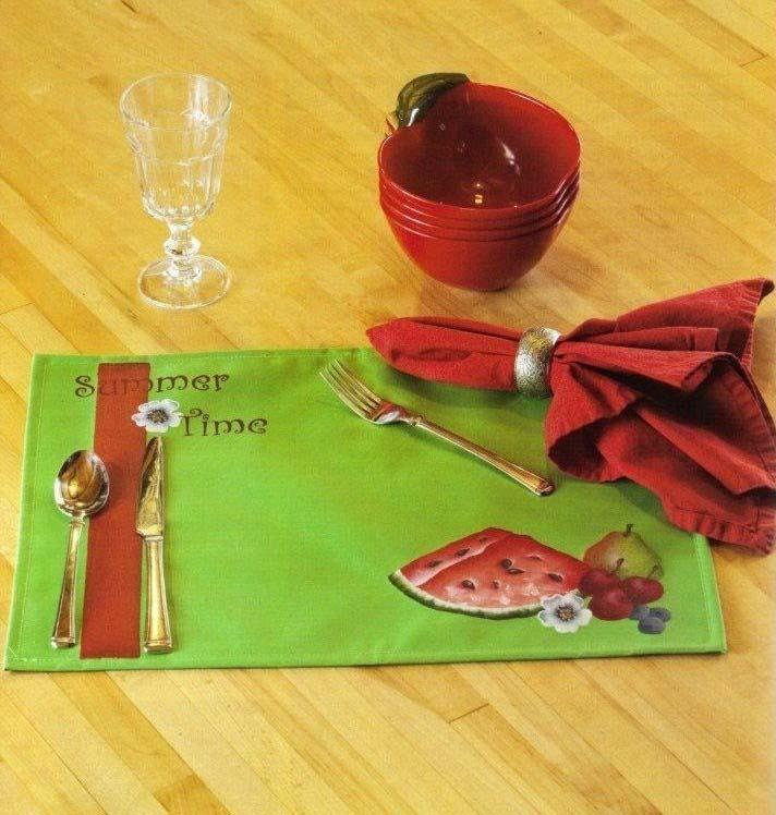 Summer Fun Placemats - E-Packet - Anita Morin