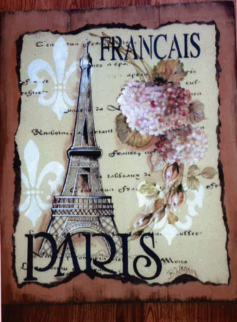 Parisian Hydrangeas E-Packet - Beth Wagner
