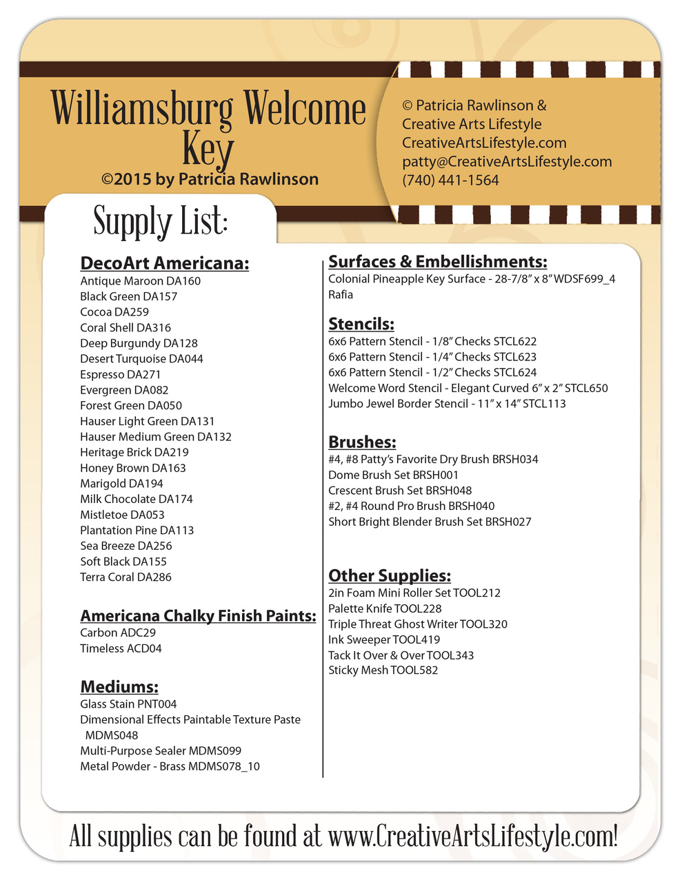 Williamsburg Welcome Key DVD - Patricia Rawlinson