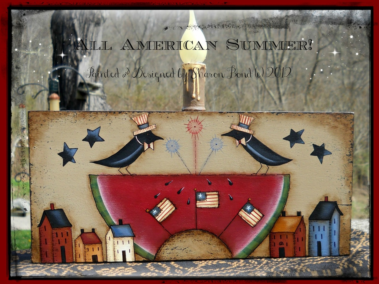 All American Summer - E-Packet - Sharon Bond